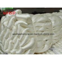 Fil de soie de catégorie de 3A 4A 5A 100% fil de soie cru normal de mûrier 20 / 22D