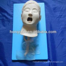 Mannequin d'entraînement à l'intubation Child Intubation ISO, modèle d'intubation trachéale