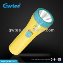 GT-8131 OEM Kinder Kunststoff Mini LED Taschenlampe