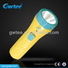 GT-8131 OEM crianças plástico Mini LED lanterna