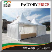 Transparentes Zelt mit neuem Design Luxus Chinesisch Pavillon Pagode Zelt Baldachin 5x5m Gzebo Zelt Großhandel