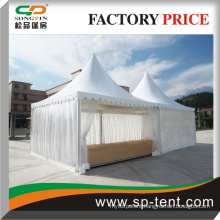 Transparent tent with new design luxury Chinese Pavilion pagoda tent canopy 5x5m gzebo tent wholesale
