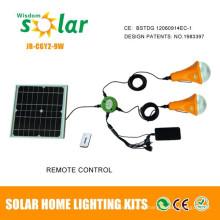 2015 en el mejor vendedor aprobado CE y patente led lámpara solar casa
