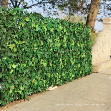 artificial screen privacy hedge decorative palm leaves