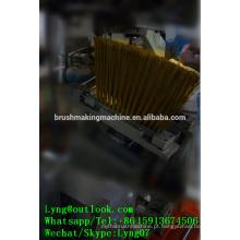 Vassoura plástica bristl dura de 5 linhas centrais que faz a máquina