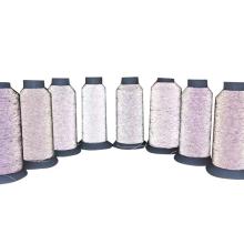 Meias de malha Ultrafine Soft Highlight Reflective Thread