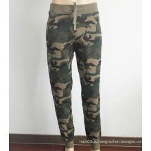 Штаны из хлопчатобумажных тощих брючных камуфляжных штанов