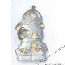Décorations en plastique de noël de Noël de 6 cm