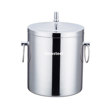 Small Stainless Steel Wine Beer Champagne Ice Bucket