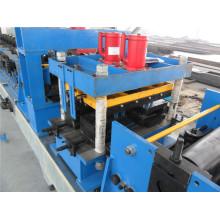 Machine de formage de rouleaux de pannes modifiables CZ avec roulement à rouleaux en acier