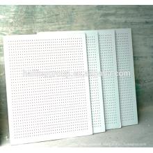 Fabricante Panel de yeso perforado acústico de panel de yeso