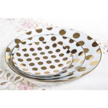 Ресторан из керамики нового дизайна использует современный ужин из керамической тарелки