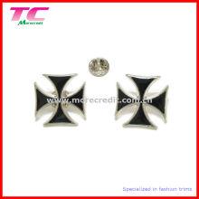 Insignia de encargo única del Pin de la solapa del metal del esmalte para la promoción