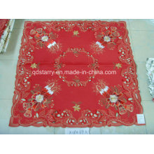 Christmas Table Cover Red Fabric St121