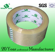 Fita adesiva da embalagem de BOPP do adesivo de Hotmelt da selagem da caixa