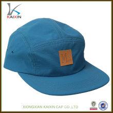 5 chapeaux de loisirs de panneau / haute qualité imperméable pêche chapeaux de pluie / chapeau de logo applique et chapeau avec votre propre logo