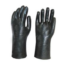 Черные 12-дюймовые химически стойкие перчатки