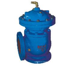 Vanne de boue à ouverture rapide hydraulique / pneumatique à diaphragme (JM744X, JM644X)