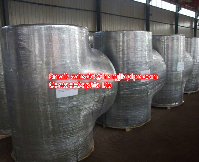stainless steel reducing tee