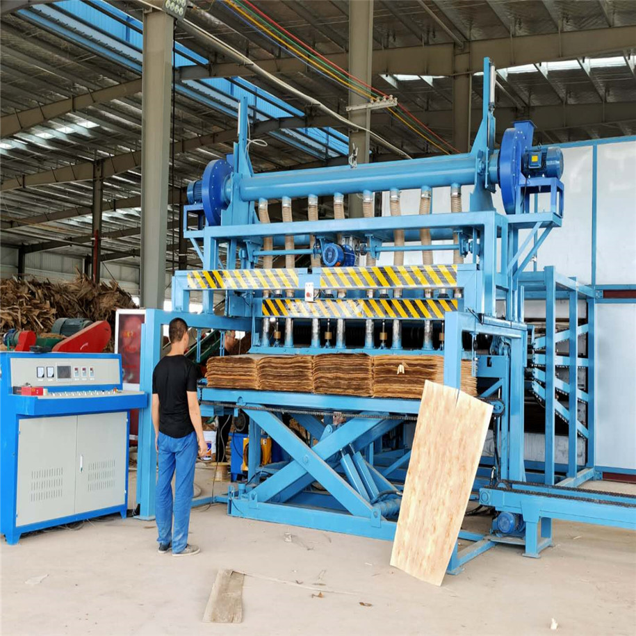 Wood Veneer Drying Machine
