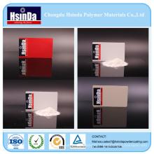 Manteau de revêtement de poudre de jet de texture de ride de gris rouge blanc de polyester d'époxyde