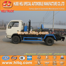 4X2 DONGFENG 5m3 95hp hook arm trash cart good quality and reasonable price in China