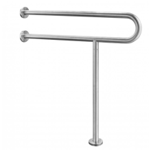 Barrier-free handrails for public toilets