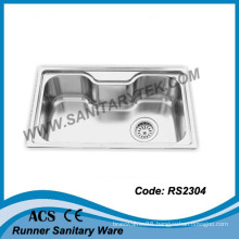 Single Bowl Stainless Steel Sink (RS2304)