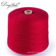 stock lot crochet fil en gros chunky fil à tricoter fil de cachemire