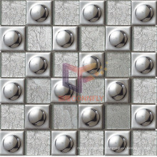Cup Shape Glass Crystal Mosaic (GF222)