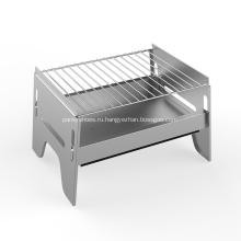 Переносной гриль для пикника на углях Швейцарское барбекю