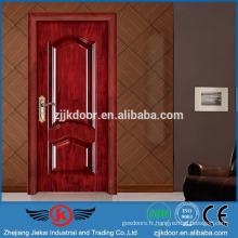 JK-SW9201 portes intérieures modernes de luxe en bois pour petits espaces