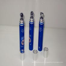 Melhor venda de tubo cosmético plástico com aplicador liga de zinco