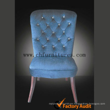 Transparent Button Living Room Hotel Chairs (YC-F052)