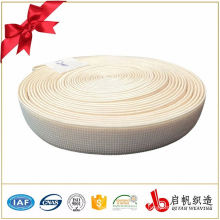 Colored 65mm white and other color thick woven elastic tape