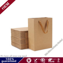 120g Black /Red /White /Cardboard Kraft Paper Bag Paper Grocery Bags