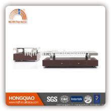 Table basse moderne en verre d'acier inoxydable de CT-11A ET-11A