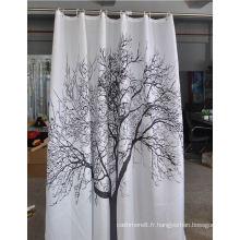 Rideaux de douche 100% polyester