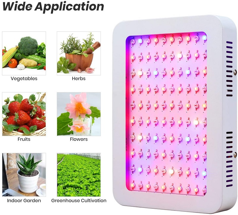 1000W LED Grow Light Plant Luces crecientes Vegetales / Flores