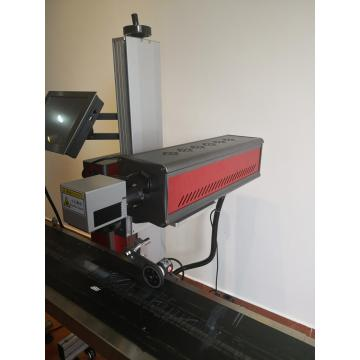 Machine de marquage laser en ligne au vol de CO2 20W