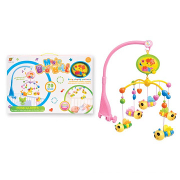 Eléctrico musical encantadora campana cama Bell plástico bebé juguete