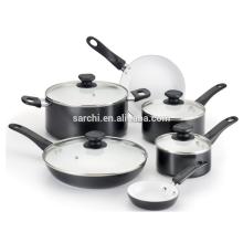 Aluminum kitchen pots and pans