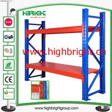 Racking industrial resistente do armazenamento do armazém do metal