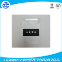Изготовленный на заказ мешок застежки -молнии PVC пластичный мешок Ziplock