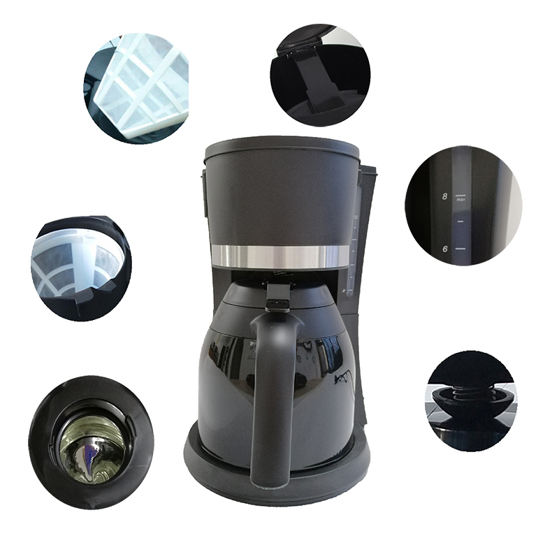 electric drip coffee maker filter