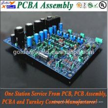 smt & dip pcb assemblage avec commutateurs et LED RVB pcba pcb