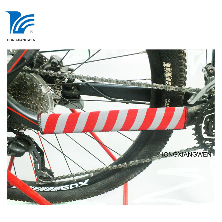 Cadre de vélo Chain Stay Protector Black Large