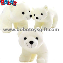 ASTM Aprovar Cuddly Stuffed Branco Cor Urso Polar Animal Soft Toy