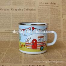 enamel drinkware high quanlity joyshaker cup green