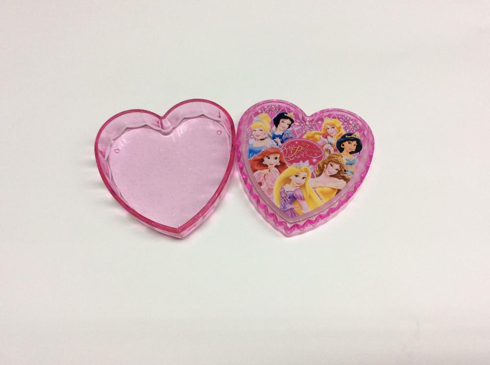 Plastic Heart Shaped Storage Box